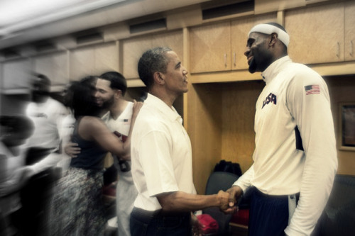 TWO KINGS FOR 4 MORE YEARS Lets do it for four more years. Barack Obama four more years as president of USA and LeBron lets get four more championship rings. Lets go Heat Nation! #TheTripleDouble