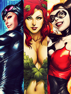 Gotham City Sirens by Stanley Lau