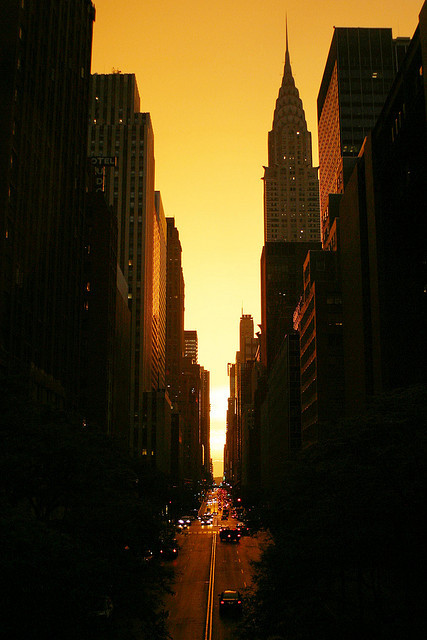 42nd Street Sunset | by jokelly