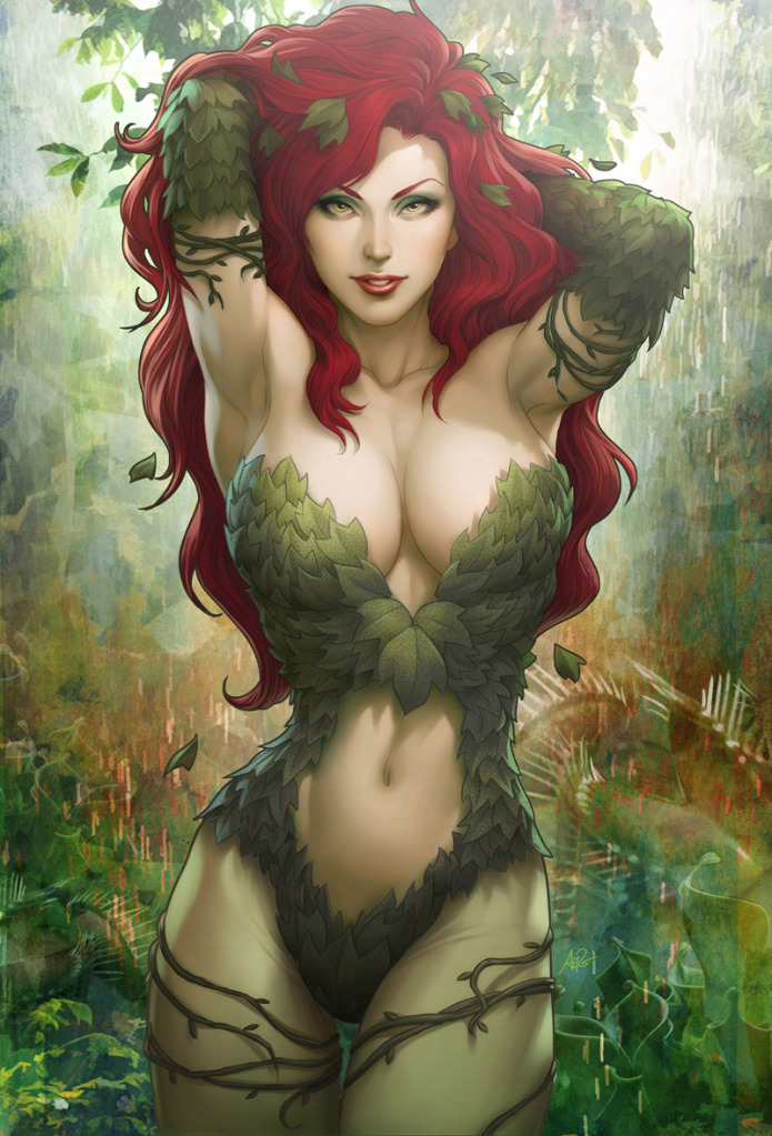 Damn! Is ArtGerm (Stanley Lau) one hell of a talented artist or what? This Ivy pic is damn amazing!