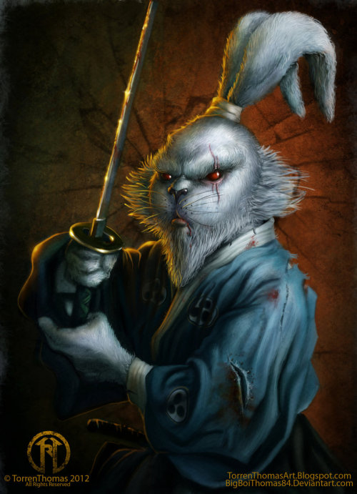 """Usagi Yojimbo"" - by Torren Thomas"