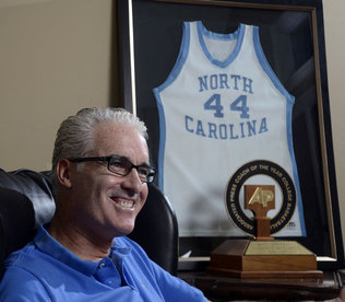 Ex-Tar Heel Matt Doherty moves from coach to TV analyst  Instead of running basketball practices these days, Matt Doherty watches and takes copious notes from them. Instead of coaching basketball games this season, he'll talk about them from the sidelines or a television studio. In other words, Doherty's relationship with the game that has both blessed and cursed him over the years is much more manageable now, thank you. After 11 seasons of coaching at Notre Dame, North Carolina, Florida Atlantic and Southern Methodist, Doherty and his family have returned to the Charlotte area, where he is working for Ballantyne-based ESPNU as an analyst and commentator for SEC and Big 12 games.