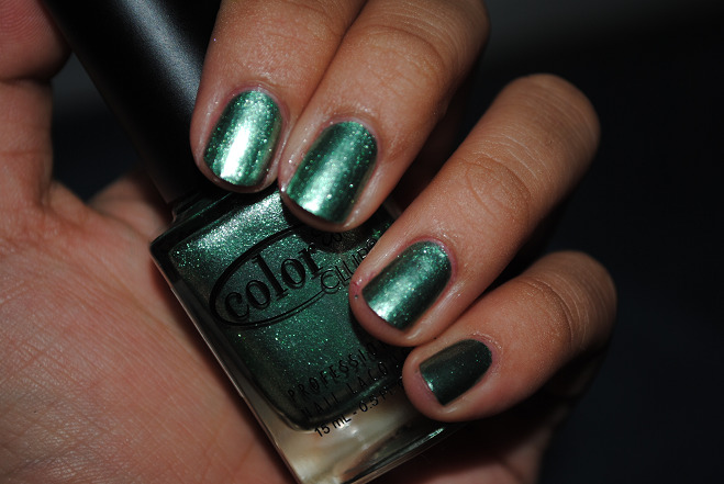 Color Club Perfect Mol-ten LOVED the foil collection from last year. Perfection.