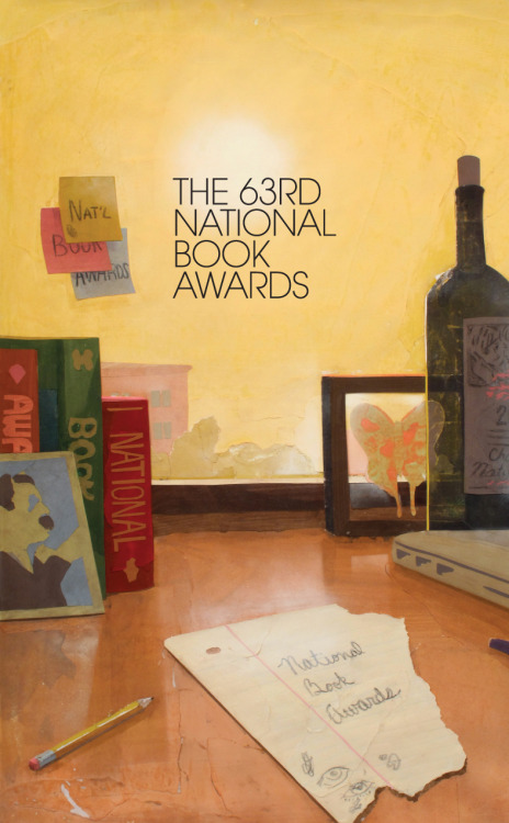 nationalbook:  The 2012 National Book Awards are tonight! We'll be streaming the event live at www.nationalbook.org on Wednesday, November 14, beginning at approximately 7:15pm.