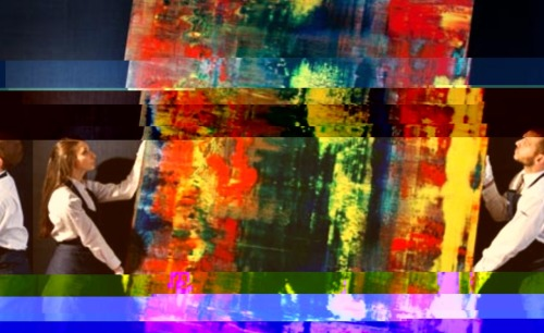 """Richter-Glitch"" (Broken files series 35x55 cms Ed.5) 2012"