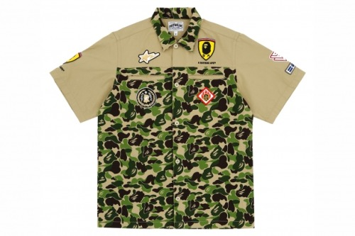 This shirt from the Bape x Ferrari collection is kinda silly…i mean i get it…but meh…can't say i'd rock it.