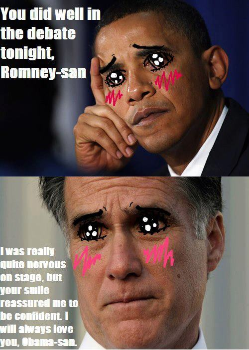 webbut:  Last night when Obama said that even though he won he and Romney were going to discus running the country in the coming weeks, this picture immediately popped in my head