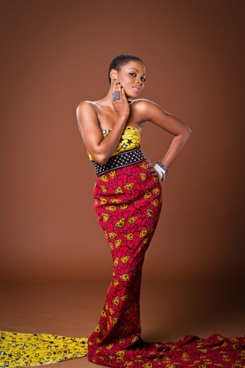 naija-entertainment:  Chidinma  #nigerian #outfit #beauty