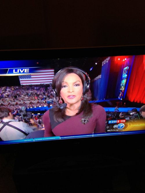 Election Reporter May Be in Star Trek Her write-in candidate was Spock.