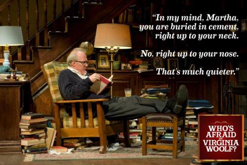 Tracy Letts as George in Edward Albee's Who's Afraid of Virginia Woolf?