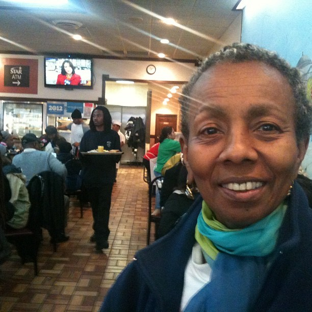 "Paulette Alonzi, 65, says she came to Valois when Obama last won and saw him stop by. ""I am really hoping he comes this year,"" she said."