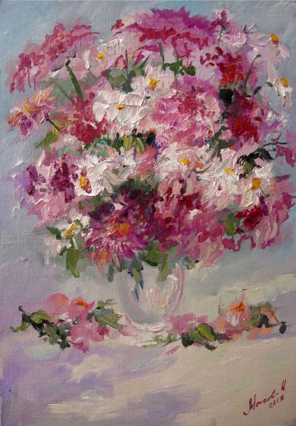 still life flowers Bouquet by Mysova Irina V