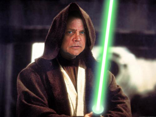 Is this what Mark Hamill would look like in Star Wars Episode VII?