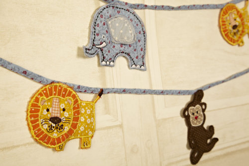 Our wild animal bunting! Perfect for kids only £12.45