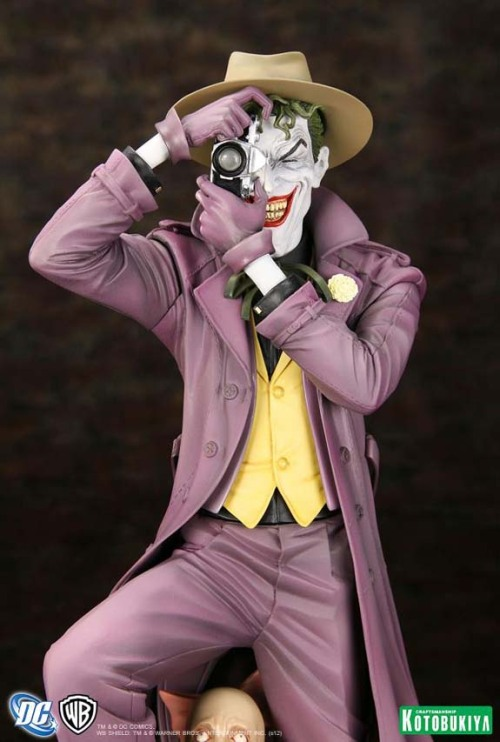 Smile! (via MTV Geek - The Joker Says 'Smile!' In This Stunning 'Killing Joke' Statue)