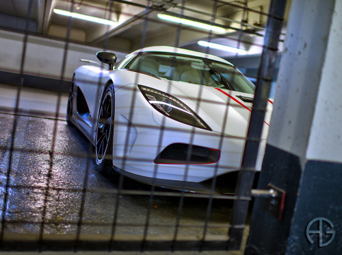 Planning my escape Starring: Koenigsegg Agera R (by A.G. Photographe)