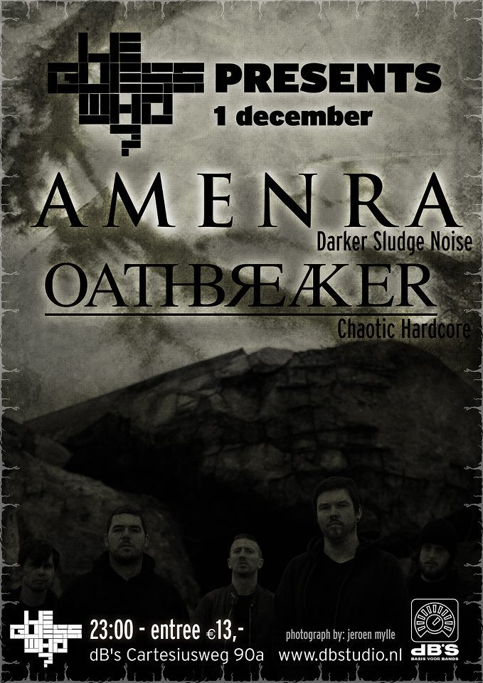 amenra-official:  next show - utrecht NL