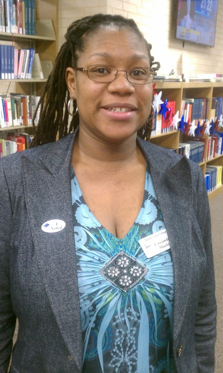 I voted early. Public Services Librarian Academic TX