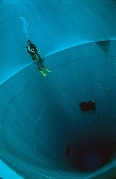 Nemo 33, the world's deepest swimming pool