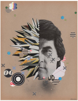 """larussa"" 2012 - collage by JUSTIN ANGELOS on Flickr.Awesome new work by Justin Angelos."