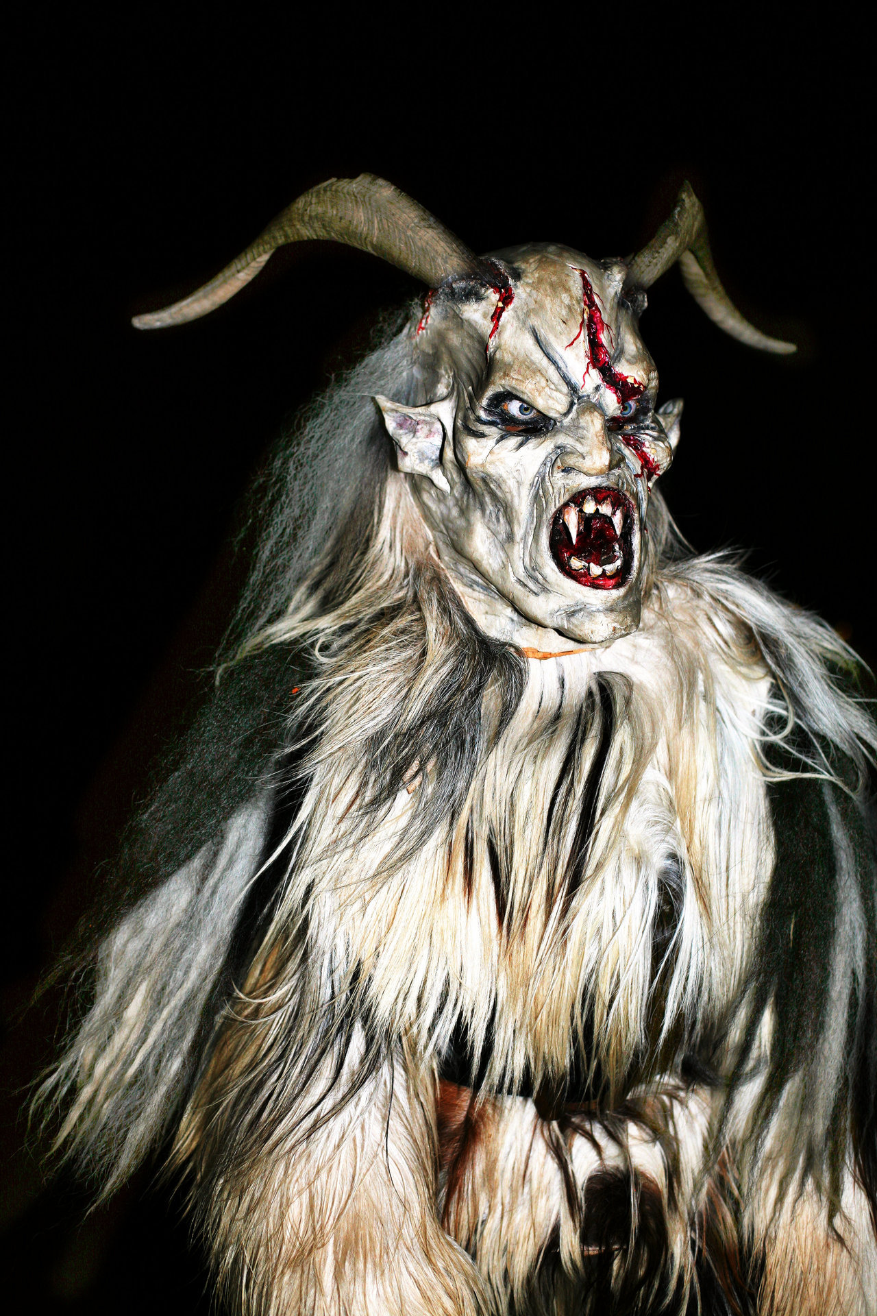 REMINDER: Less than a month till Krampusnacht. Time to dust off those chains and switches!