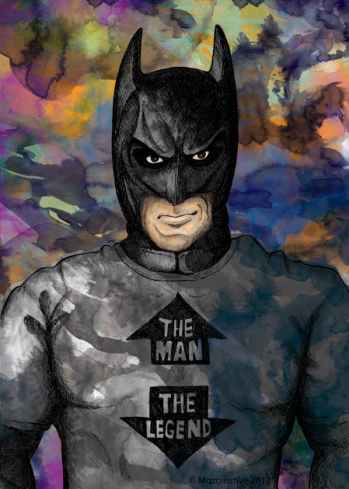 Super Hero Batman t-shirt Illustrations by Michael Turner