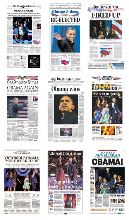 nevver:  Front pages