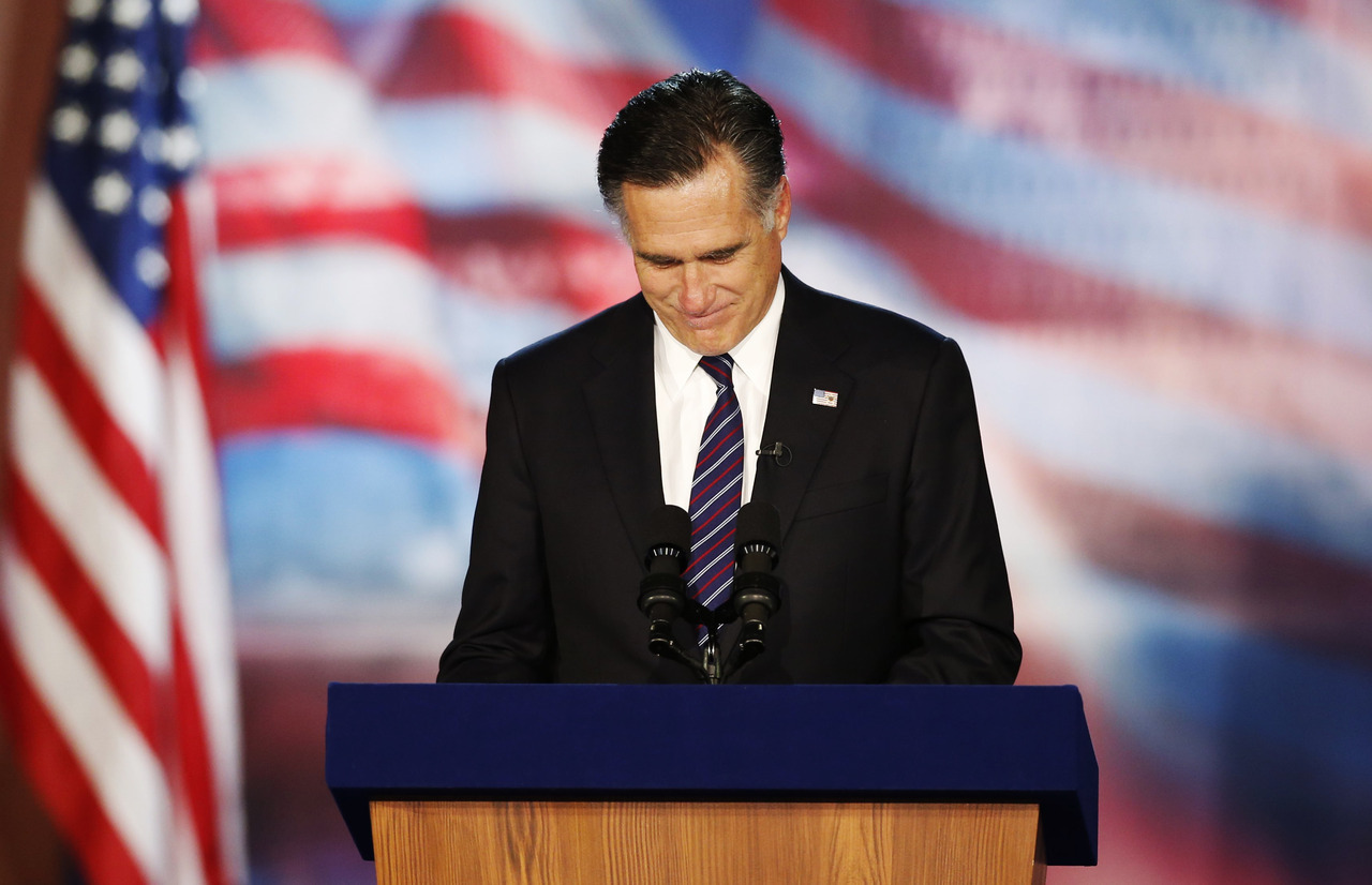 "reuterspolitics:  Mitt Romney won the Republican presidential nomination as a ""turnaround man,"" whose capacity to reinvent companies, and the 2002 Olympics, could be transferred to the nation and its troubled economy. But from the outset of his general election campaign-burdened with the lowest favorability rating of any major party candidate since 1984 - it was evident that his most challenging reinvention would have to be Mitt Romney. And Tuesday night it failed. Willard Mitt Romney came up short, losing his second and likely last campaign for the presidency to President Barack Obama. ""Almost president"" is a distinction sought by no politician. READ ON: Romney's last, greatest 'turnaround' falls short"