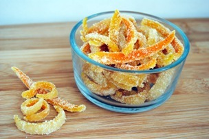 findvegan:  Candied Orange Peel