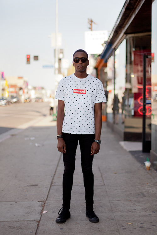 Adrian in Los Angeles by Streetgeist #Blackfashion FacebookTwitter @BlackFashionbyj
