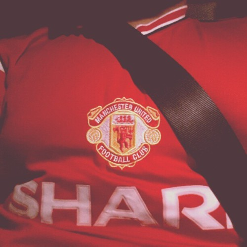 I'm with you for tonight's game. #ggmu #ucl #manchesterunited #manutd
