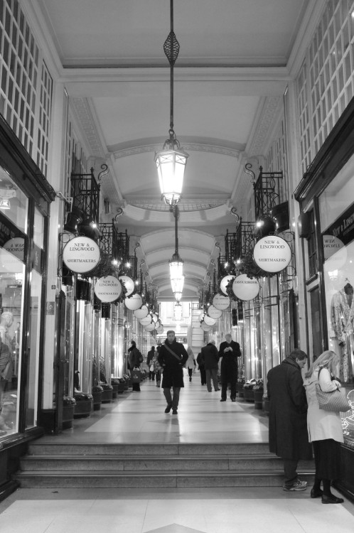 Another Victorian arcade. London, November 2012.