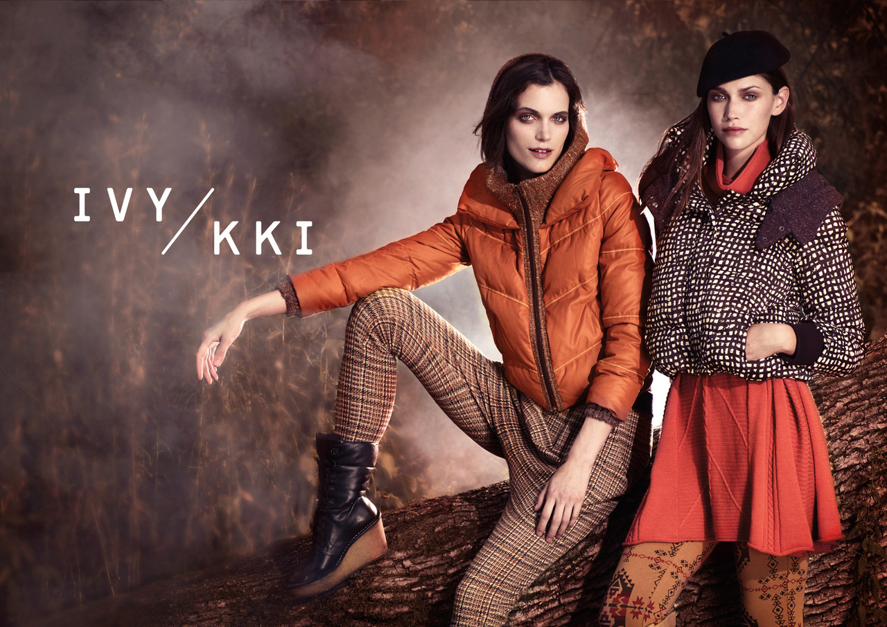"""IVY KKI Fall 2012 campaign shot by KT AULETA"""
