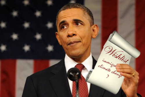 Immigration reform. Climate change. What should be on Obama's wish list?