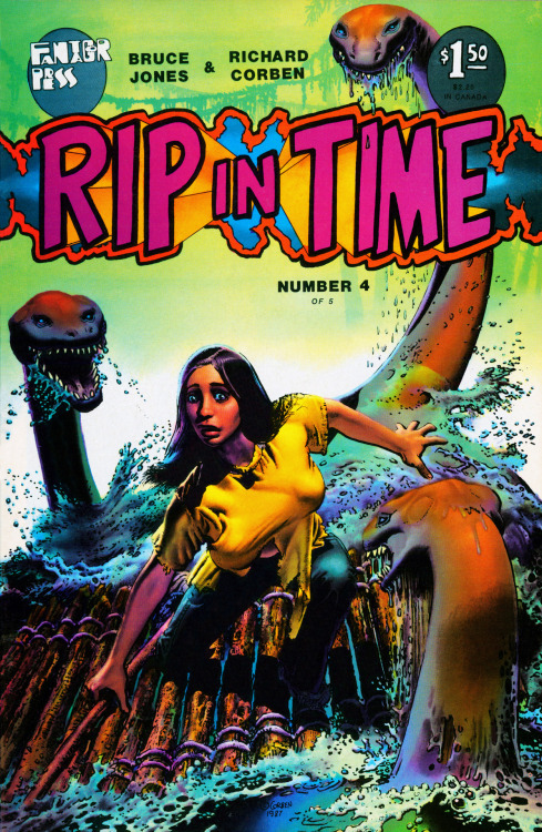 fantagor:  Rip In Time #4 (1987) Written by Bruce Jones Cover of Rip In Time #4 (1987) This scan from my personal copy of Rip In Time #4 (1987)