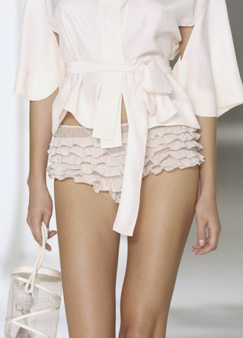 Pretty frilly knickers  Jasper Conran Spring 2009