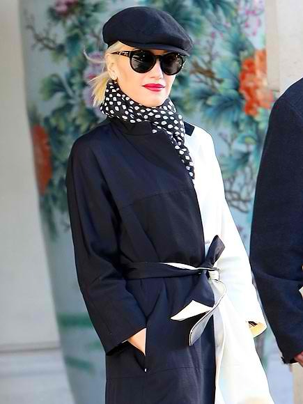 This girl EXUDES style! GWEN STEFANI makes a stylish exit yesterday (Tuesday) while in Paris with her NO DOUBT band mates. The group was in town for a performance in support of their latest release, Push and Shove. xo @RozOonThego