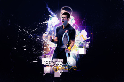 I made a wallpaper for my hero @DjokerNole ! I hope my #NoleFam will love it! :) x