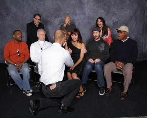 Dude Proposes to Girlfriend in Front of Entire Star Trek Cast Looks like he got a real Picard facepalm IRL