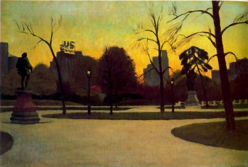 theartgeeks:  Shakespeare at Dusk ~ Edward Hopper