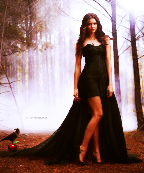 emmastacie:  disney re-vamped - nina dobrev / katherine pierce as the evil queen