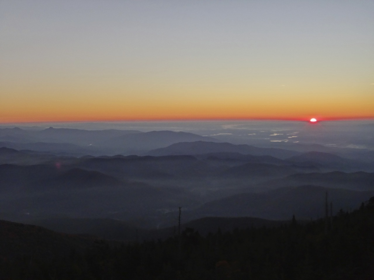Sunrise on Mt. Mitchell - Photo Taken by Echo Photographer and Wilson Junior Wyatt Pace during his 47 Day Outward Bound Experience. To see more visit the Echo's main website