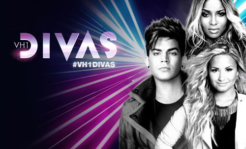 That's right. Adam Lambert.  VH1 Divas.  2012. More info (about Adam and the other performers) here.