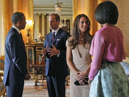 What exactly did Prince William and Kate Middleton send President Obama?  Click above to find out!