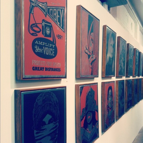 Shepard Fairey's Obey Exhibition
