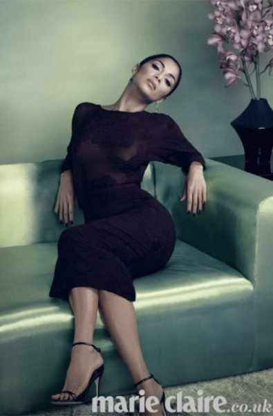 "Nicole Scherzinger for Marie Claire UK [Dec 2012]…On her Formula 1 beau Lewis Hamilton: ""Lewis and I are a team and we're really there for each other, and the time we spend together I do cherish, it's separate from everything else. I know there are a lot of relationships who, you know… take Kanye West and Kim Kardashian – well, they're perfect for the cameras. Lewis and I are a bit more subdued."""
