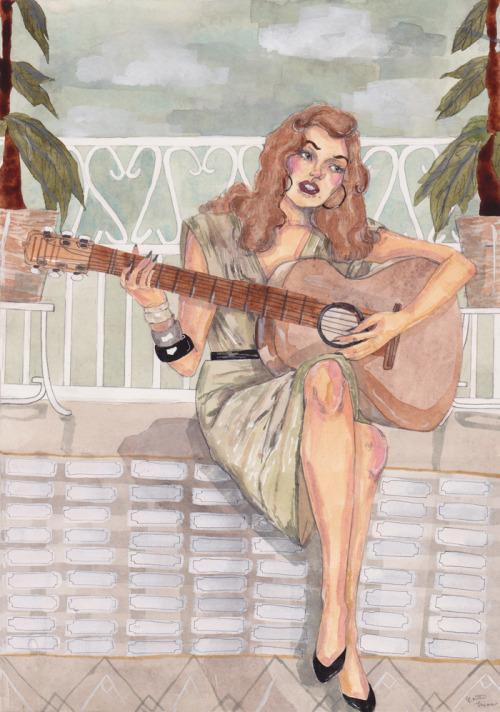 caitlinmarieshearer:  Solitary Serenade