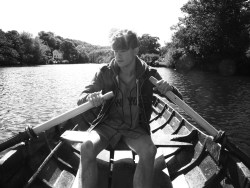 #boy #hot #unreal #boat #river #summer