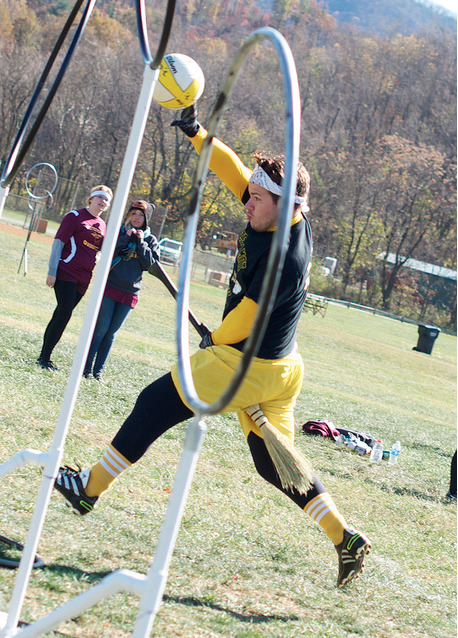 Quidditch. Me gusta.  Photo Credit: Deanna Edmunds
