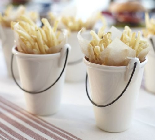 Cool party idea: Fry Serving Buckets